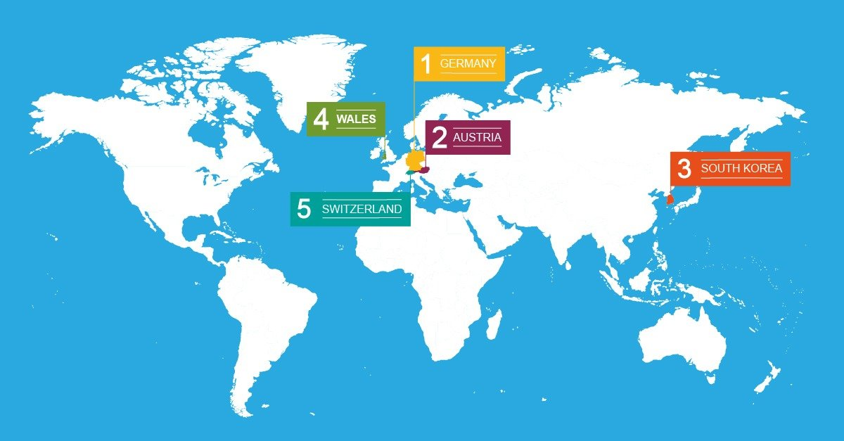 Global Recycling Map